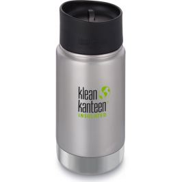 Klean Kanteen Insulated Wide - brushed stainless 355 ml uni