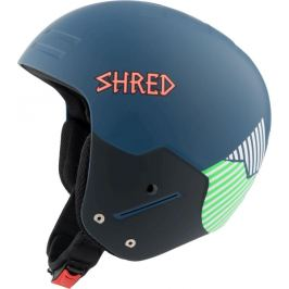 Lyžařská přilba Shred Basher Noshock Needmoresnow - navy blue/green L